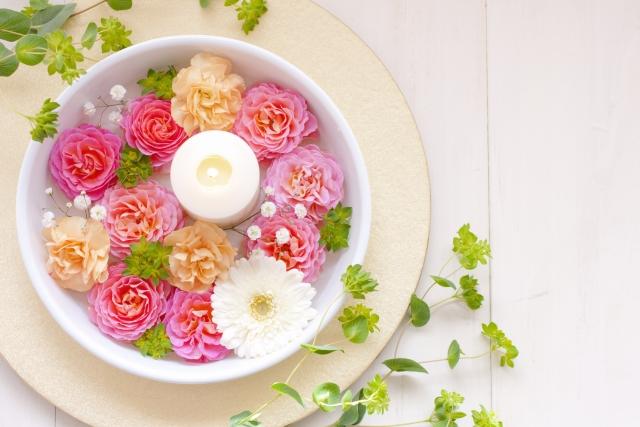 アロマと花