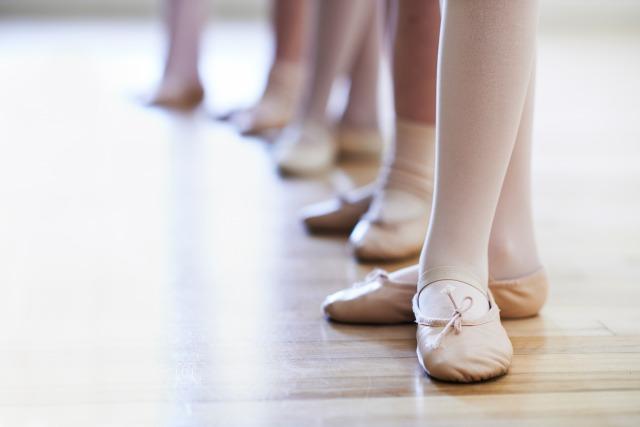 バレエ3番の足型